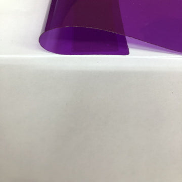Purple Marine PVC Tinted Plastic Vinyl Fabric - Fashion Fabrics Los Angeles