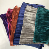 Purple Crinkle Stretch Velvet Fabric - Fashion Fabrics Los Angeles