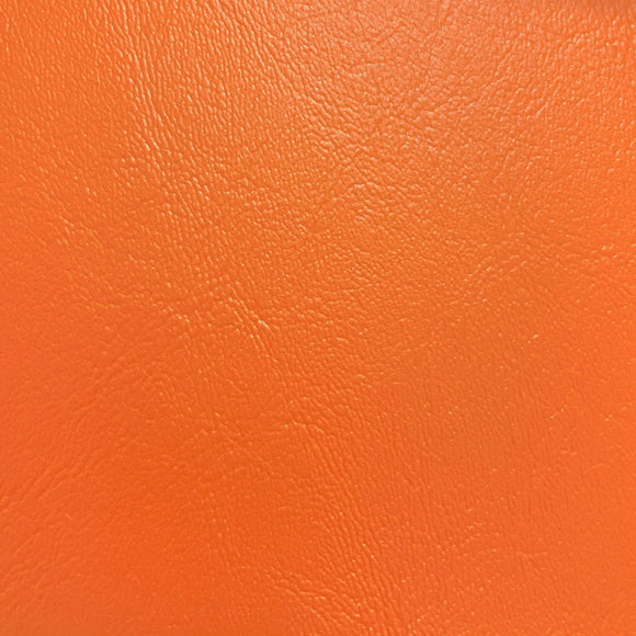 Orange Malibu Marine Vinyl Fabric