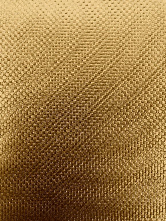 Gold Embossed PVC Vinyl Fabric - Fashion Fabrics Los Angeles