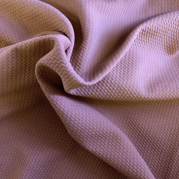 Mauve Pink Bullet Texture Liverpool Fabric - Fashion Fabrics Los Angeles