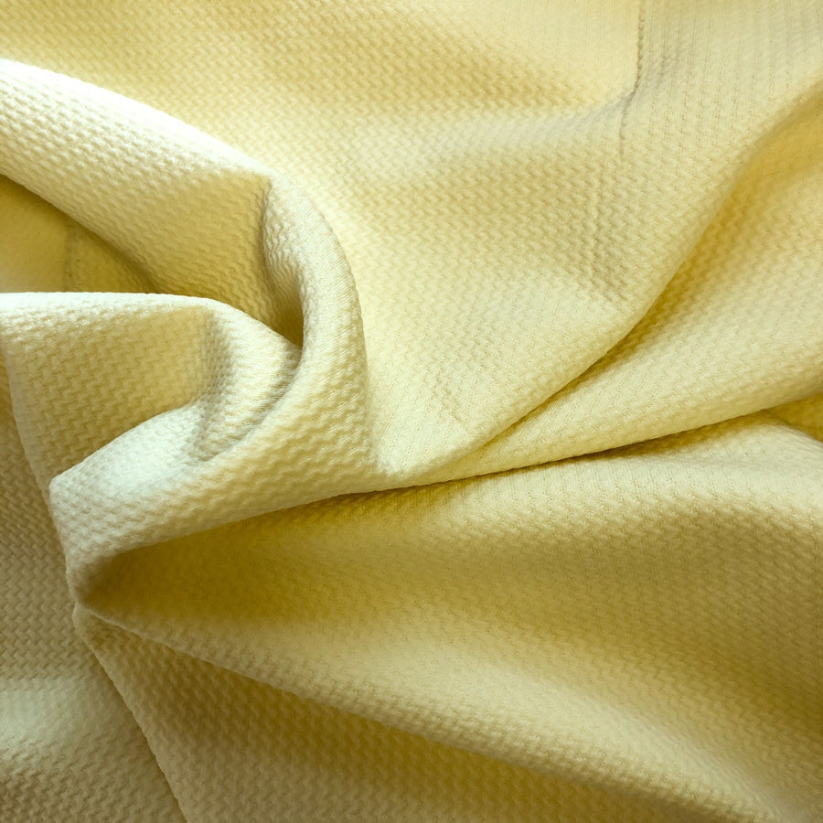 Yellow Bullet Texture Liverpool Fabric - Fashion Fabrics Los Angeles