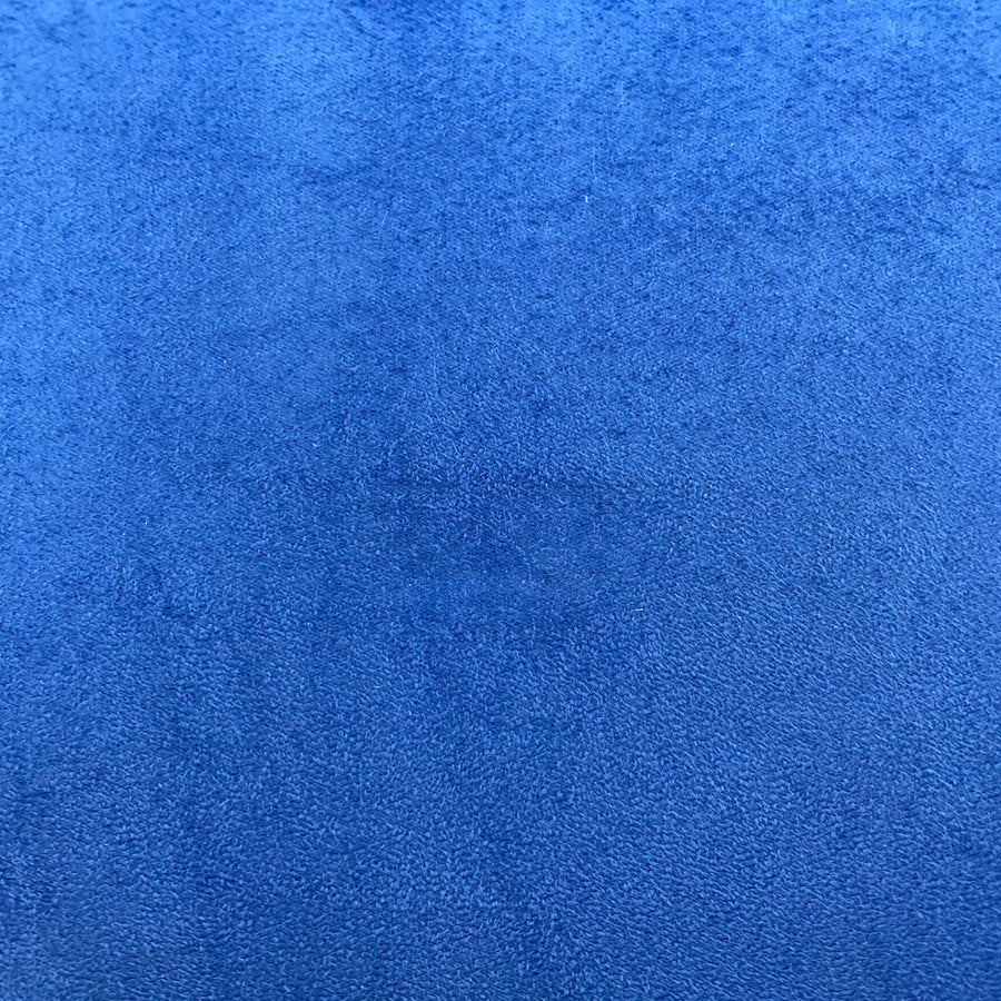 Royal Blue Luxury Stretch Suede Foam Backed Headliner Fabric - Fashion Fabrics LLC