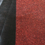 Red Black Holographic Shimmer Glitter Spandex Fabric - Fashion Fabrics Los Angeles