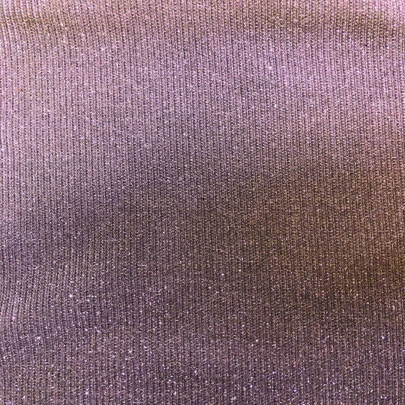 Lavender Silver Holographic Shimmer Glitter Spandex Fabric - Fashion Fabrics Los Angeles