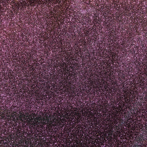 Burgundy Green Gold Holographic Shimmer Glitter Spandex Fabric - Fashion Fabrics Los Angeles