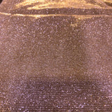 Rose Gold Holographic Shimmer Glitter Spandex Fabric - Fashion Fabrics Los Angeles