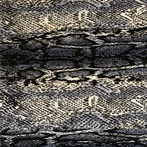 Blue Snakeskin Printed Stretch Velvet Fabric - Fashion Fabrics Los Angeles