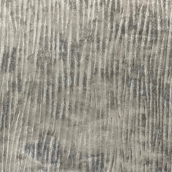 Silver Corduroy Stretch Velvet Fabric - Fashion Fabrics Los Angeles
