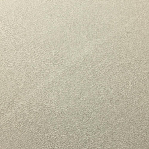 Ivory Doheny PVC Faux Leather Vinyl Suede Backing Fabric - Fashion Fabrics Los Angeles