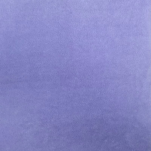 Lilac Purple Smooth Minky Faux Fur Fabric