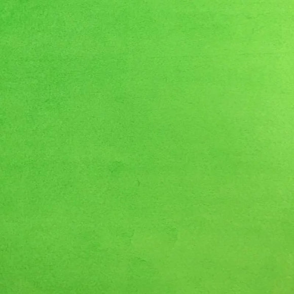 Lime Green Smooth Minky Faux Fur Fabric