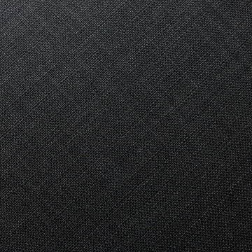 Midnight Black Hermosa Linen Upholstery Fabric - Fashion Fabrics Los Angeles