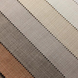 Hazel Wood Brown Hermosa Linen Upholstery Fabric - Fashion Fabrics Los Angeles
