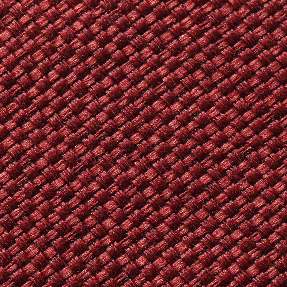 Maroon Red Matte Sunset Linen Fabric - Fashion Fabrics Los Angeles