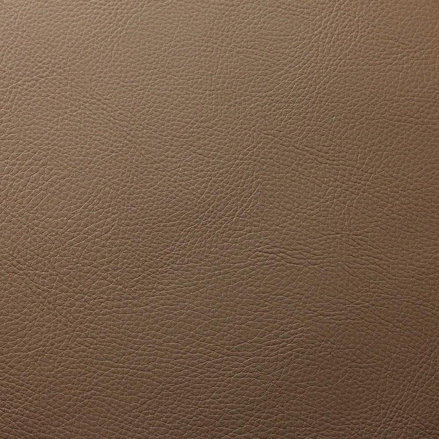 Peanut Brown Cannon PVC Faux Leather Vinyl Suede Backing Fabric - Fashion Fabrics Los Angeles