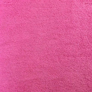 Pink Smooth Minky Faux Fur Fabric - Fashion Fabrics Los Angeles