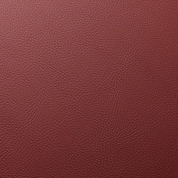 Red Cannon PVC Faux Leather Vinyl Suede Backing Fabric