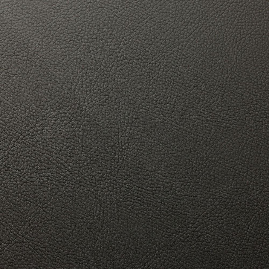 Shadow Gray Cannon PVC Faux Leather Vinyl Suede Backing Fabric - Fashion Fabrics Los Angeles
