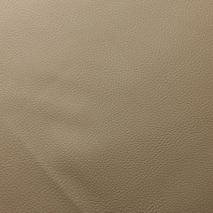Tan Brown Doheny PVC Faux Leather Vinyl Suede Backing Fabric - Fashion Fabrics Los Angeles