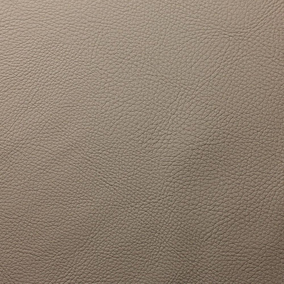 Taupe Cannon PVC Faux Leather Vinyl Suede Backing Fabric