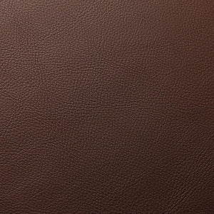 Umber Brown Cannon PVC Faux Leather Vinyl Suede Backing Fabric - Fashion Fabrics Los Angeles