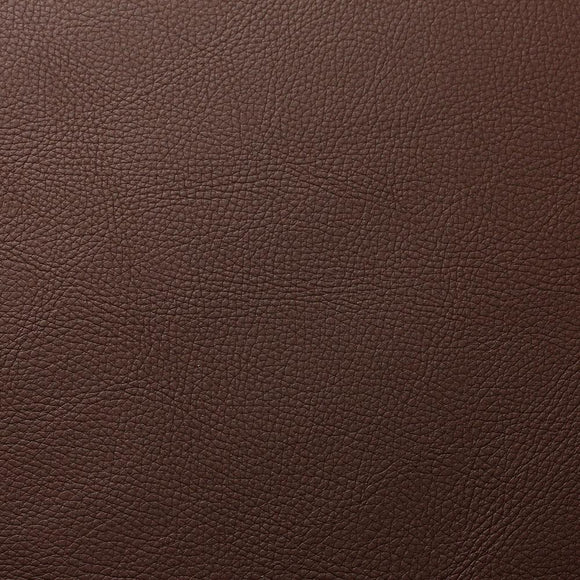 Umber Brown Cannon PVC Faux Leather Vinyl Suede Backing Fabric