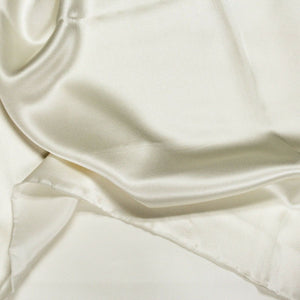 White Silk Charmeuse Fabric - Fashion Fabrics Los Angeles