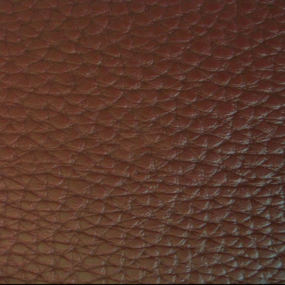 Brown Textured PVC Leather Vinyl Fabric - Fashion Fabrics Los Angeles