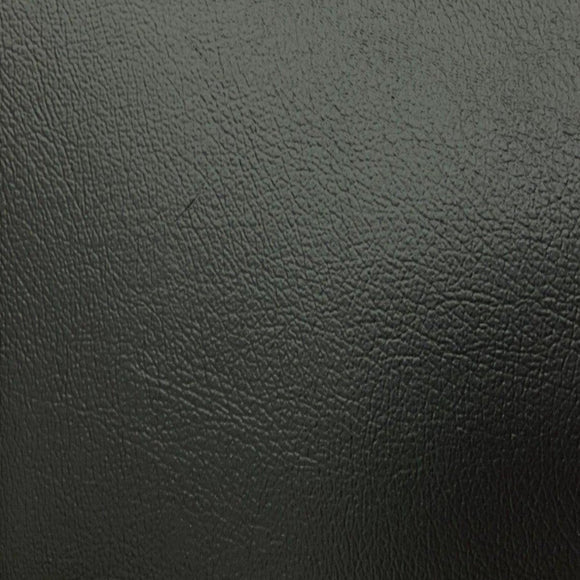 Black Soft Skin PVC Faux Leather Vinyl Fabric - Fashion Fabrics Los Angeles
