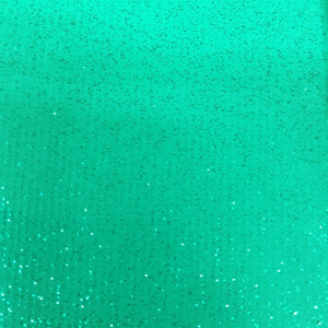 Light Green Sparkle Glitter Vinyl Fabric - Fashion Fabrics Los Angeles