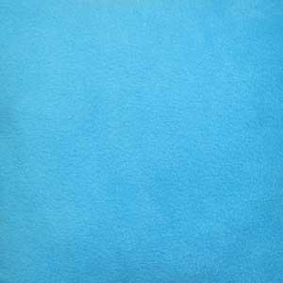 Aqua Blue Solid Anti Pill Polar Fleece Fabric - Fashion Fabrics Los Angeles