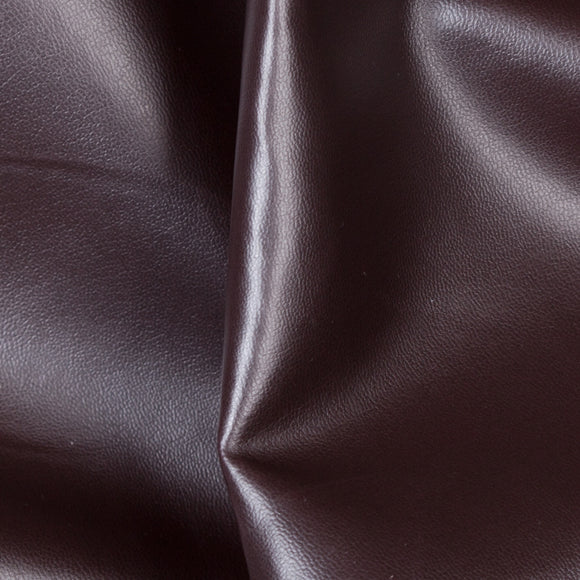 Dark Brown Soft Skin Vinyl Fabric - Fashion Fabrics Los Angeles