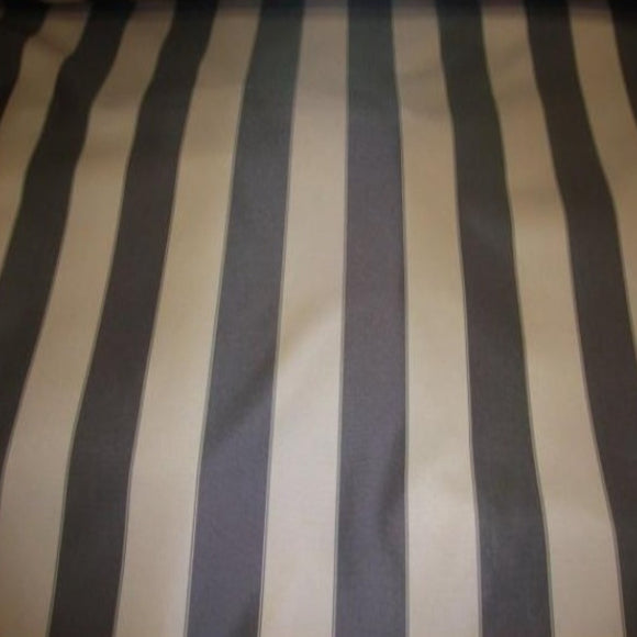 Brown Khaki Striped Outdoor Fabric - Fashion Fabrics Los Angeles