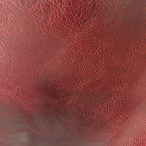 Blood Red Distressed Faux Leather Fabric - Fashion Fabrics Los Angeles
