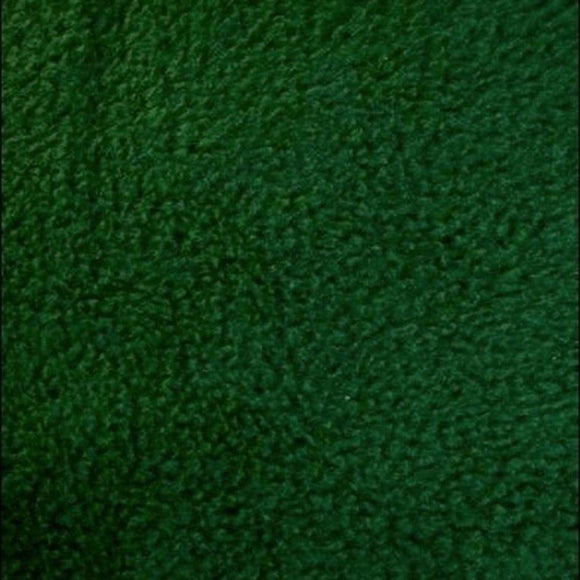 Hunter Green Solid Anti Pill Polar Fleece Fabric - Fashion Fabrics Los Angeles