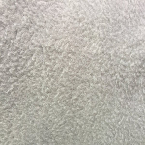 Silver Solid Anti Pill Polar Fleece Fabric - Fashion Fabrics Los Angeles