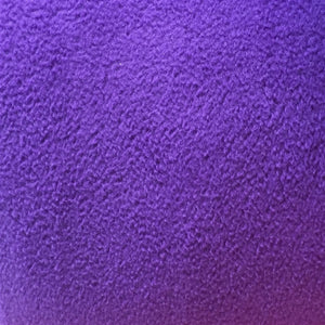 Dark Purple Solid Anti Pill Polar Fleece Fabric - Fashion Fabrics Los Angeles