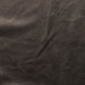 Charcoal Gray Camden Velvet Polyester Upholstery Drapery Fabric - Fashion Fabrics Los Angeles