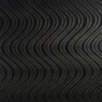Black Swirl Velvet Flocking Fabric - Fashion Fabrics Los Angeles
