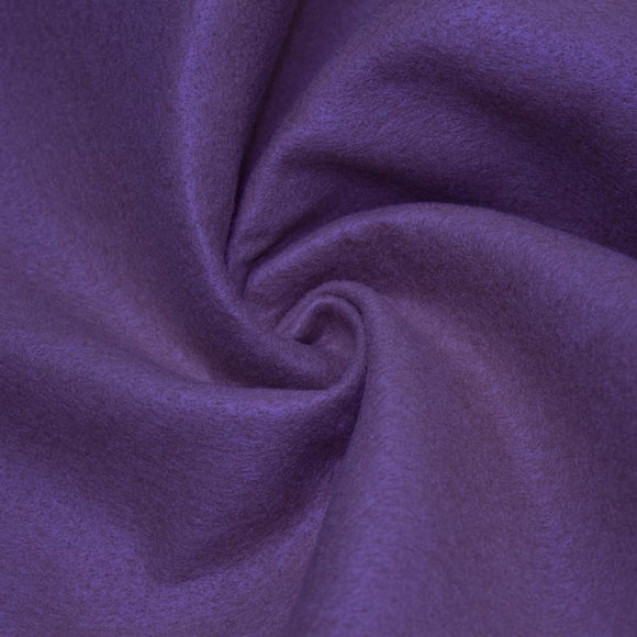 Purple Solid Acrylic Felt Fabric - Fashion Fabrics Los Angeles