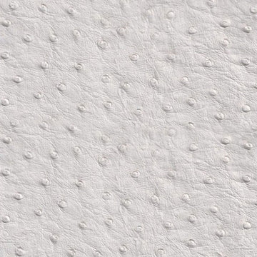 White Faux Ostrich Vinyl Fabric - Fashion Fabrics Los Angeles
