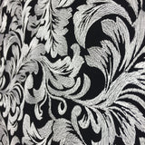 Silver Ashlee Floral Lace Fabric