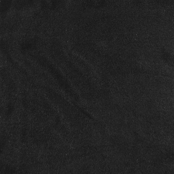 Black Triple Velvet Clothing Drapery Fabric - Fashion Fabrics Los Angeles
