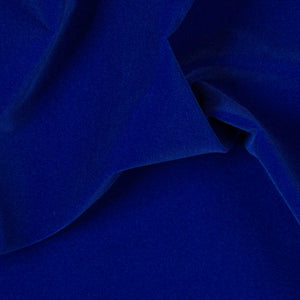 Solid Royal Blue Velvet Flocking