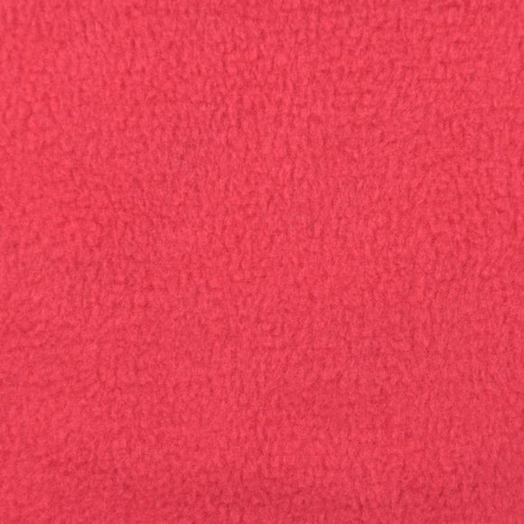 Coral Solid Anti Pill Polar Fleece Fabric - Fashion Fabrics Los Angeles