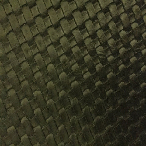 Black Basket Weave Vinyl - Fashion Fabrics Los Angeles