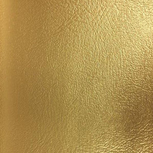 Gold Metallic Blazer Heavy Duty Vinyl Fabric - Fashion Fabrics Los Angeles
