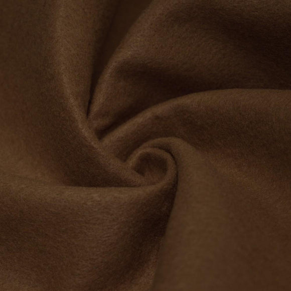 Light Brown Solid Acrylic Felt Fabric - Fashion Fabrics Los Angeles
