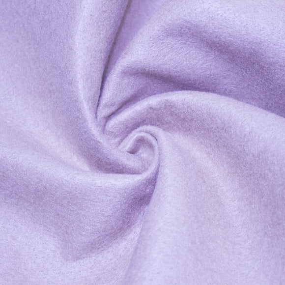 Lavender Solid Acrylic Felt Fabric - Fashion Fabrics Los Angeles